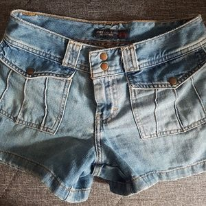 American Eagle Blue Jean Shorts - Size S